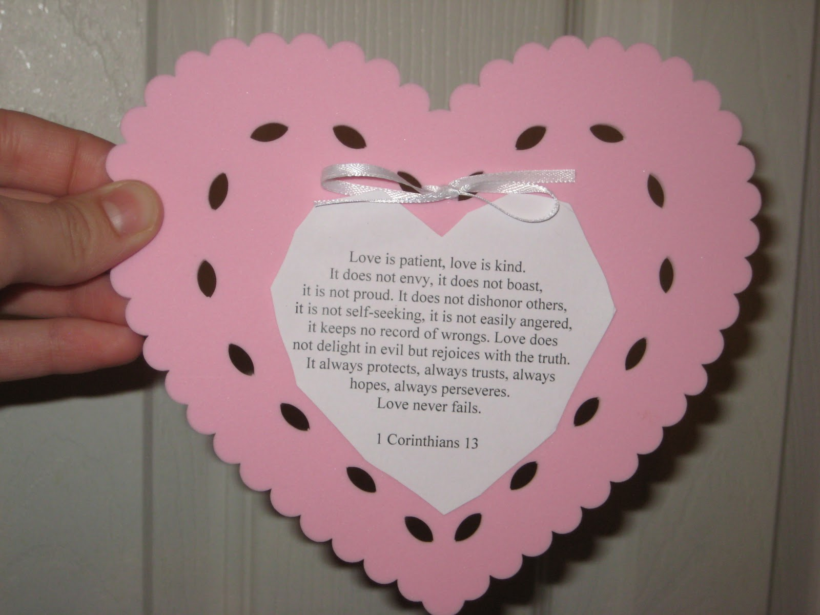Valentines Day Bible Craft Raisingodlychildren
