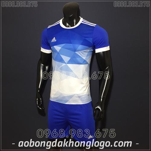 Áo Bóng Đá Không Logo Adidas KC Xanh Đậm 2019