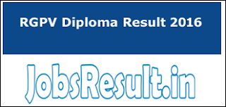 RGPV Diploma Result 2016
