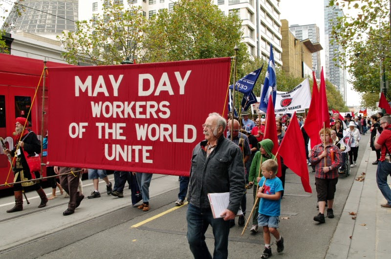May Day Workers of the World Unite