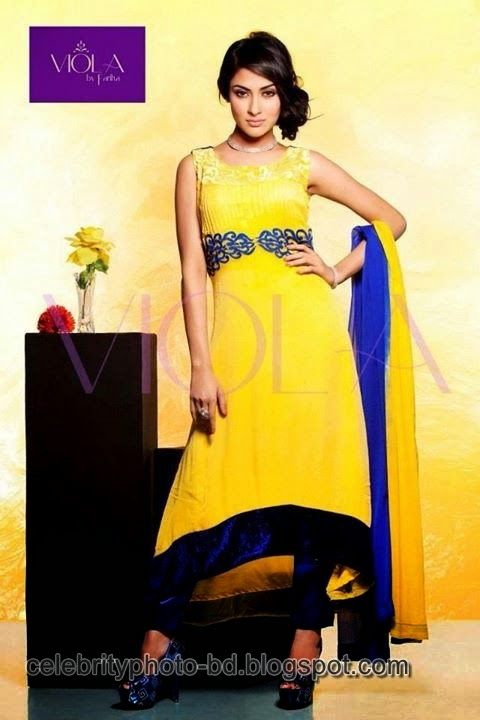 Sexy Beauty Queen Of BD Mehzabien Chowdhury's PhotoShoot For Viola Brand 2014
