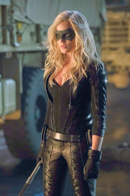 Sara Lance as the Black Canary
