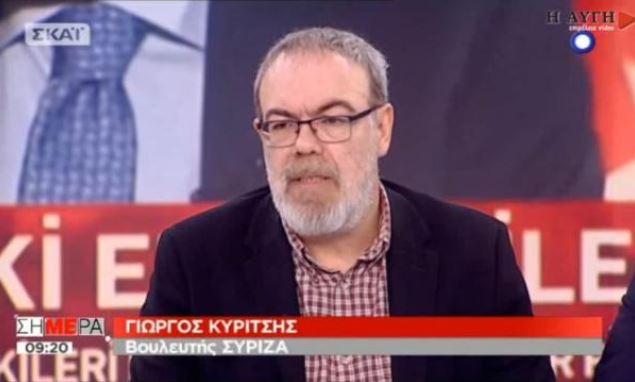 Τι είπε ο Γιώργος Κυρίτσης, χωρίς την… κοπτορραπτική της μονταζιέρας του ΣΚΑΪ – VIDEO