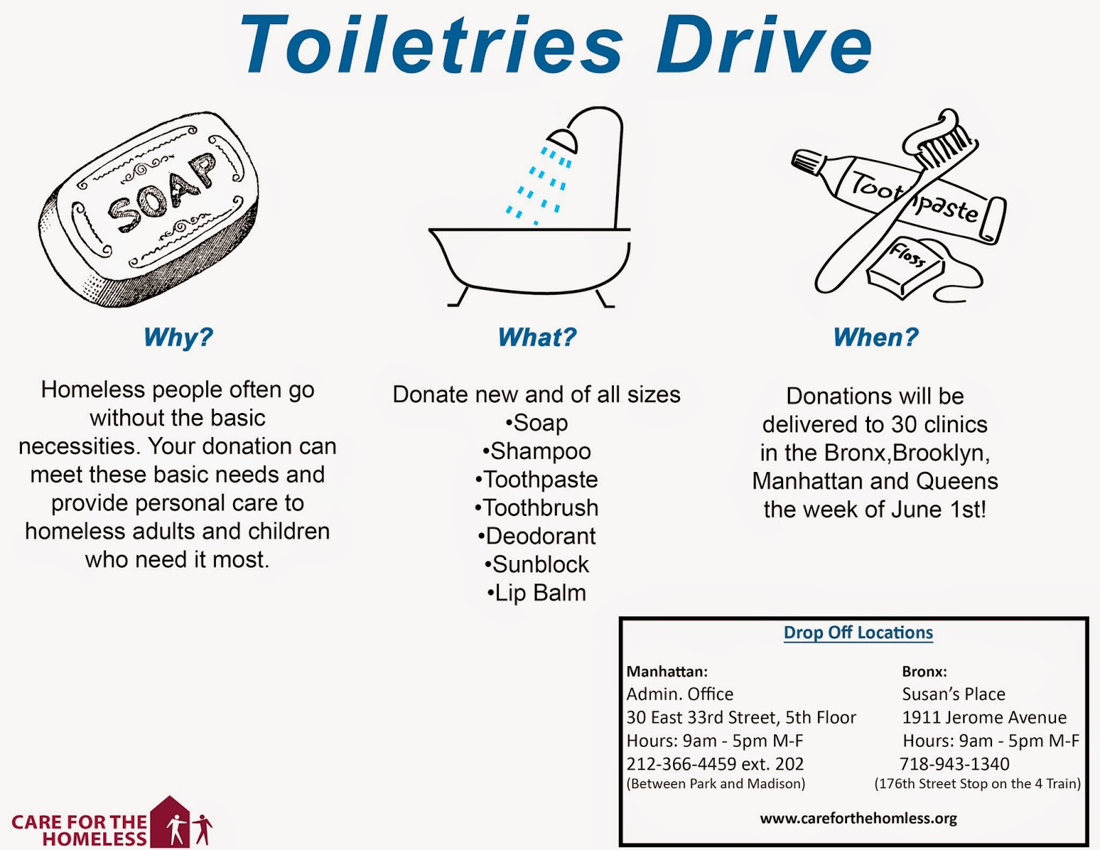What Do You Do With Unused Toiletries