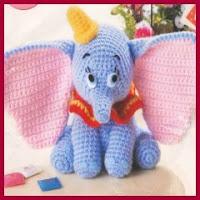 Dumbo amigurumi