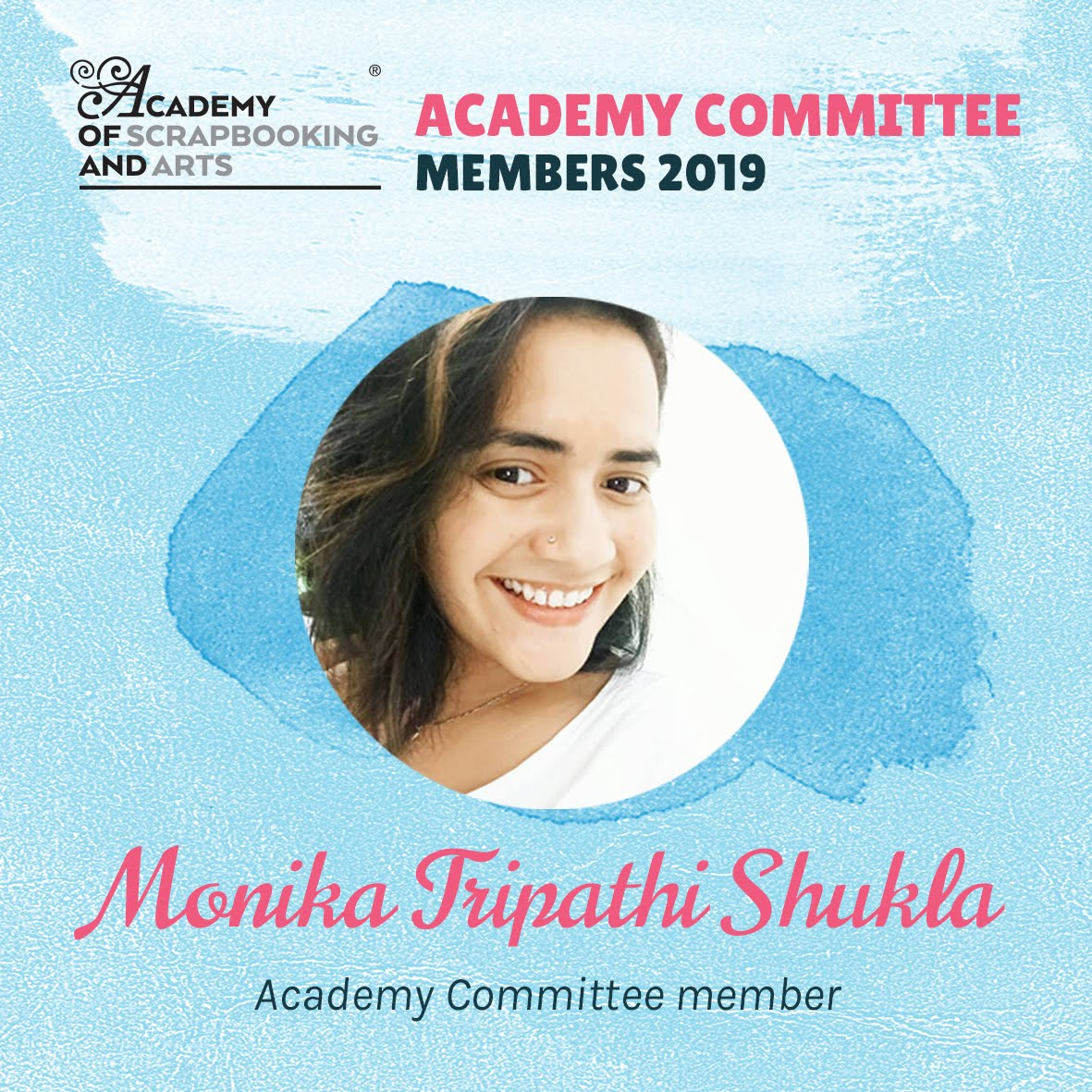 Committee Member for Academy of Scrapbooking and Arts