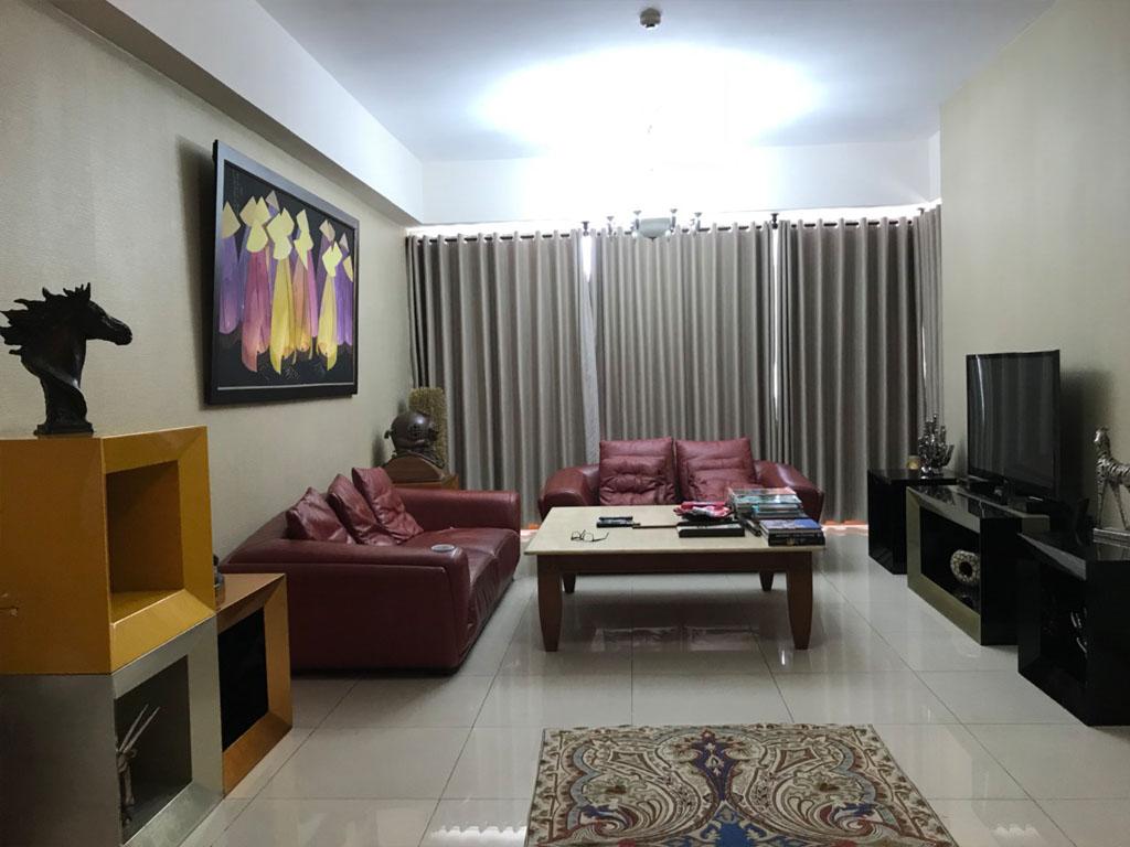 {Ruby 2 Saigon Pearl} cho thuê căn hộ 3PN tầng cao nội thất đẹp