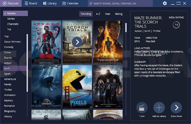 تحميل برنامج مشاهدة الافلام والمسلسلات مجاناً Stremio 3.5.9