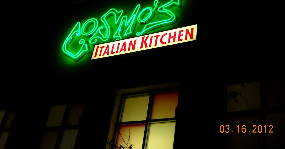 Eating My Way Through OC Out of This World Italian at