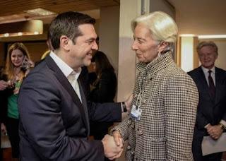 Μαξίμου: Τι συζήτησαν Τσίπρας - Λαγκάρντ πριν την συνάντηση με την Μέρκελ