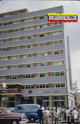 La arquitectura de los edificios de Caracas Era la más moderna de todo el continente