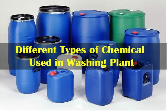Garment washing chemicals