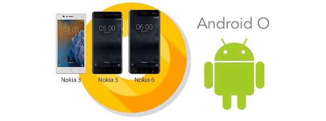 Loạt điện thoại Nokia 6,5 và 3 sẽ được nâng cấp lên Android O