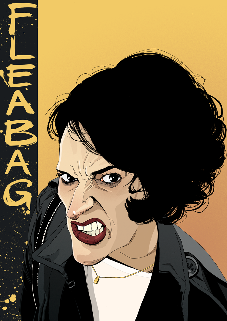 Fleabag Poster Phoebe Waller-Bridge