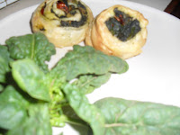 girelle pasta sfoglia spinaci vegan