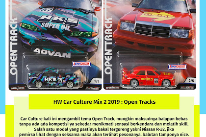 Hot Wheels Car Culture Mix 2 2019 : Open Track