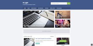 Nlight Seo Friendly Premium Free Blogger Template, Premium Blogger template, Blogger Template, nlight, Premium blogger template free download