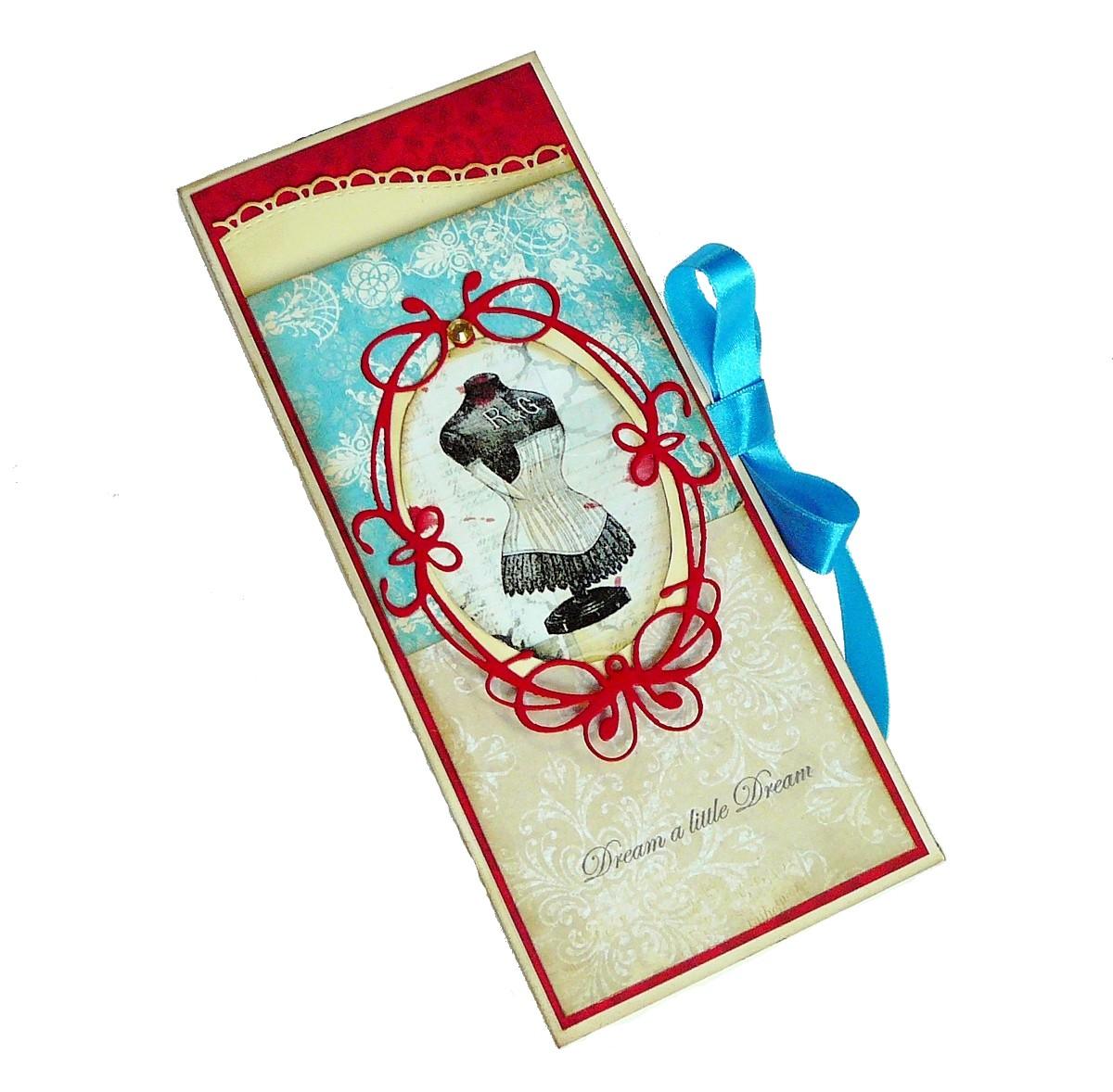 pudełko na czekoladę hand made
