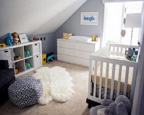 d coration chambre gris et blanc. Black Bedroom Furniture Sets. Home Design Ideas