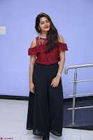 Pavani Gangireddy in Cute Black Skirt Maroon Top at 9 Movie Teaser Launch 5th May 2017  Exclusive 022.JPG