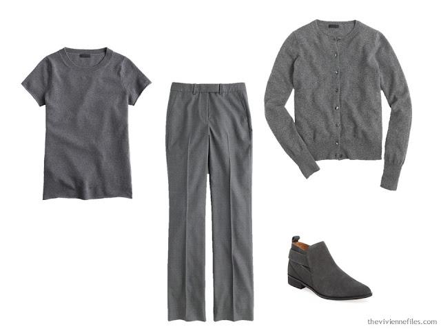 grey foundation capsule wardrobe
