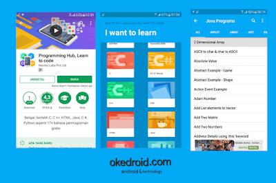 Programming Hub Aplikasi Android