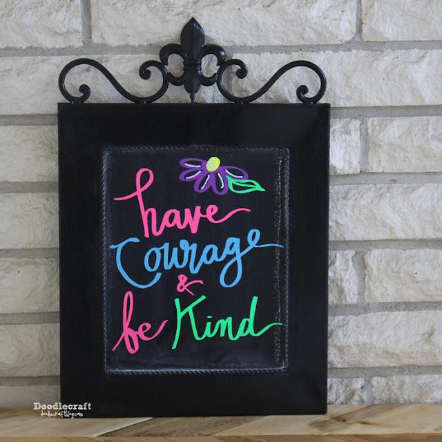 http://www.doodlecraftblog.com/2015/07/chalkboard-wall-art-with-neon-chalk.html