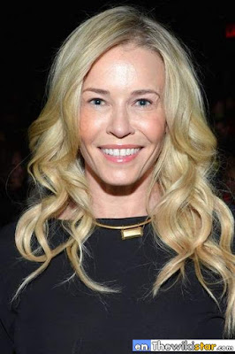 The life story of Chelsea Handler, presenter and comic actress American