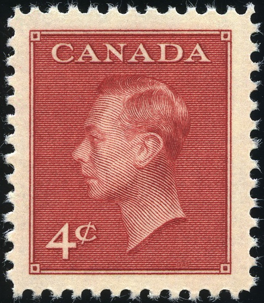 King George Vi Postage Stamps Canada 1950 19 Jan Sg424 428