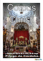 Fiesta del Corpus Christi 2016 - Priego de Córdoba