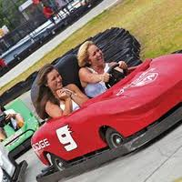 Go-kart racing near Pigeon Forge