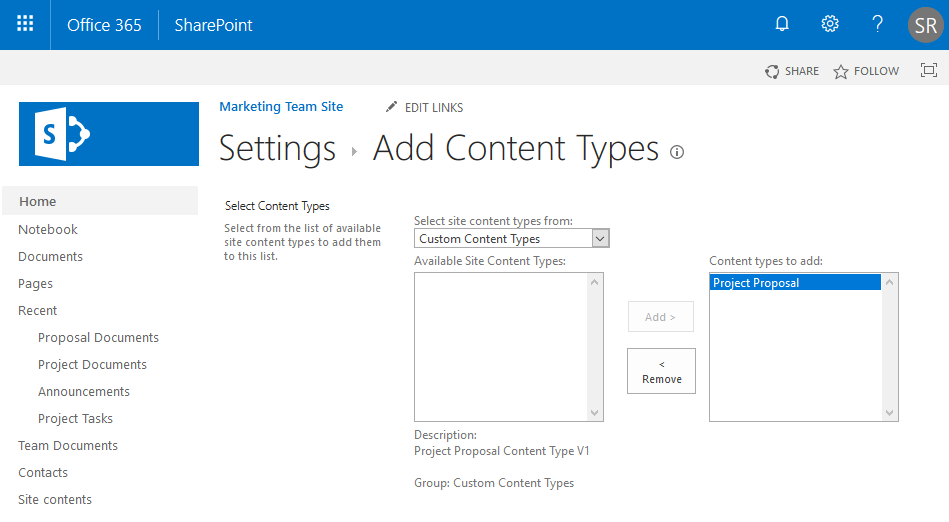 add document set to library sharepoint online