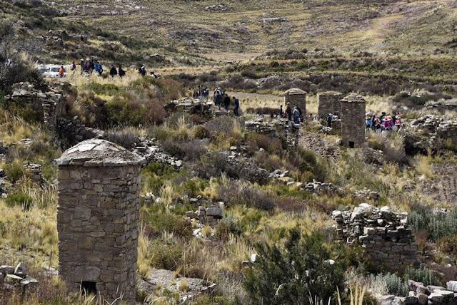 Pre-Inca funeral towers in Bolivia rebuilt