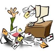 Inundado de correos
