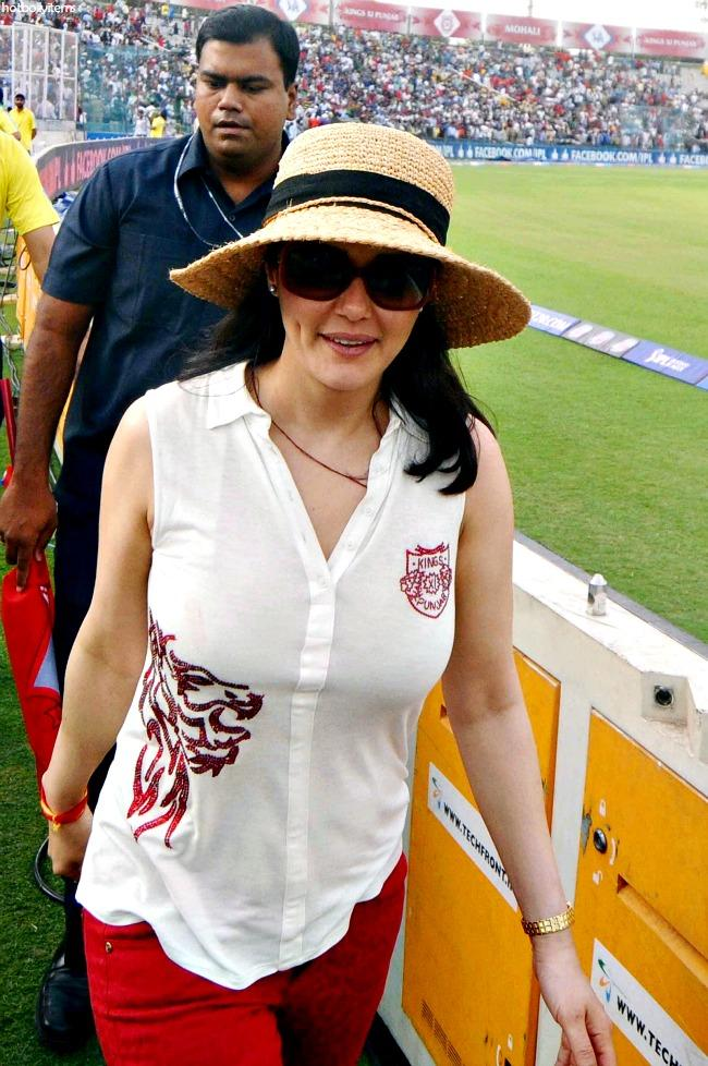 Unseen Picss Preity Zinta Ipl 2013 Hot Owner Kings 11 Punjab-2245