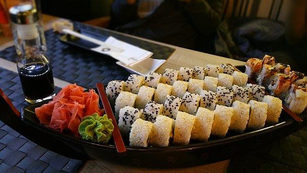 Sayuran dan Bumbu Shushi, makanan pencegah kanker
