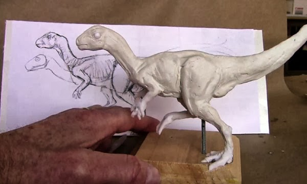 Gurney journey how to sculpt your maquettes to scale for Maquette stand