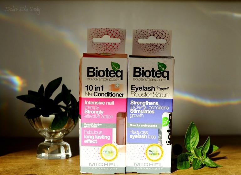 Bioteq Biology & Technology - Odżywka do paznokci 10 w 1 oraz Serum do rzęs i brwi