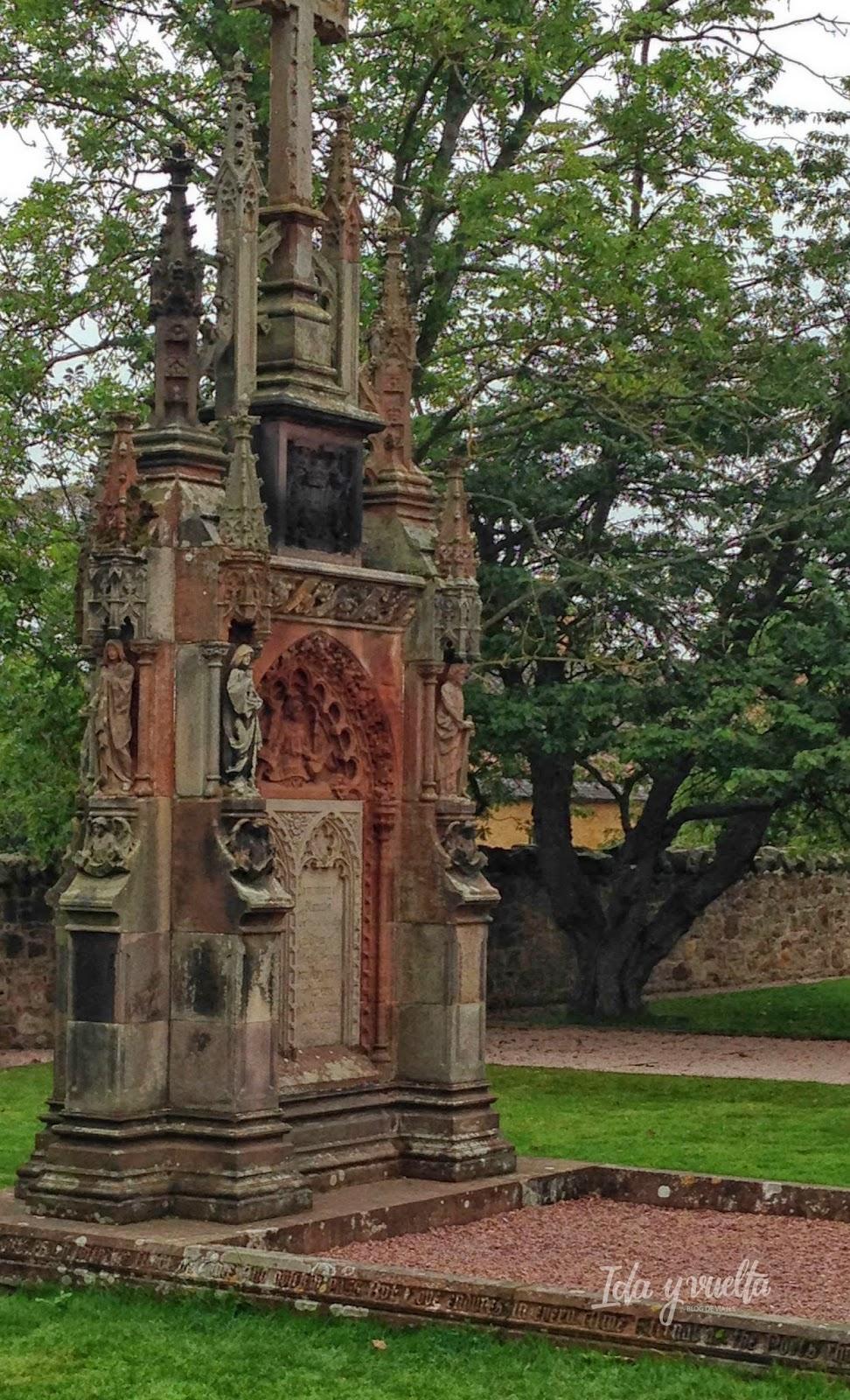 Monumento en Rossllyn
