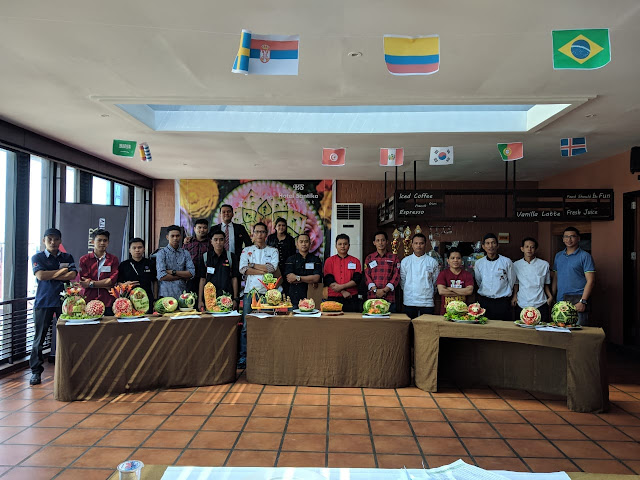 Hotel Santika Makassar Gelar Carving Competition, Ini Tujuannya