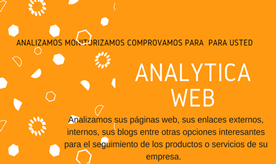 Analizamos y monitorizamos sus blogs y páginas web.