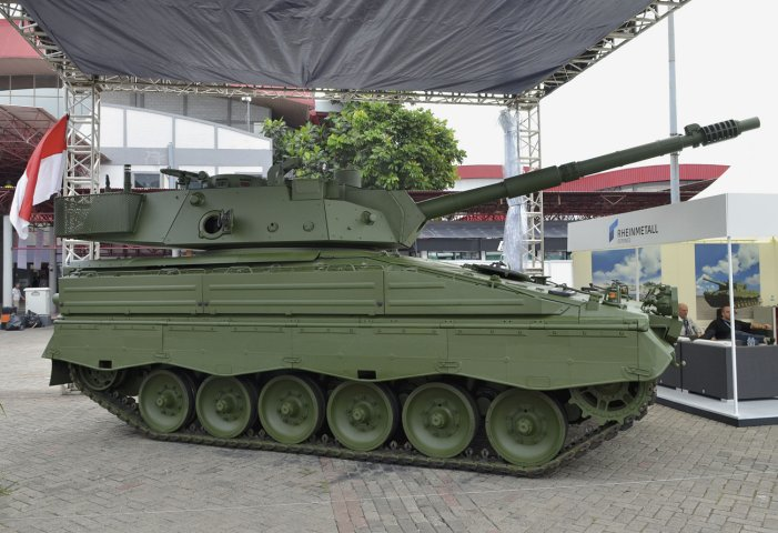 Indo-Defence Tank Medium Marder RI