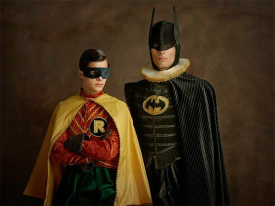 Batman e Robin medieval