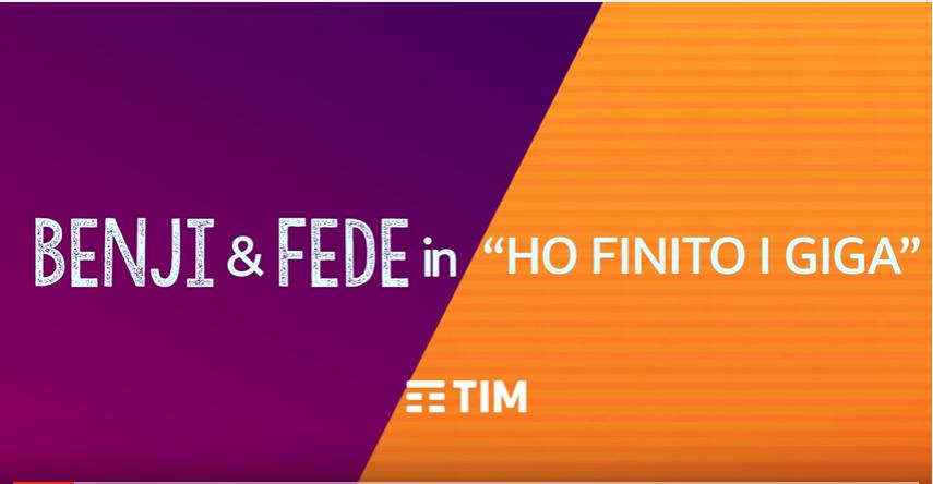 TIM Young & Music Estate senza Gb? La soluzione di Benji & Fede - canzone luglio 2016