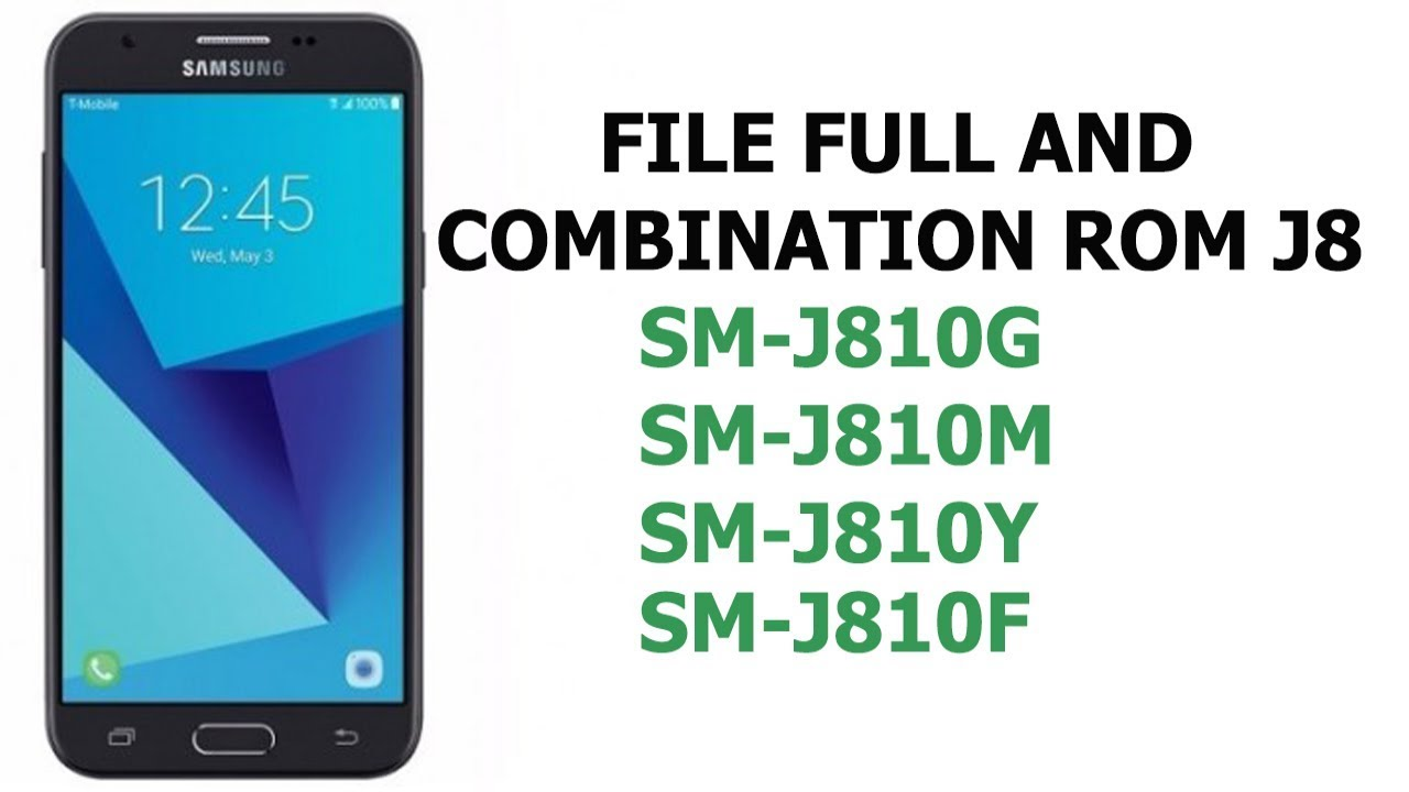 Bypass FRP Lock Samsung Galaxy J8 2018 (SM-J810) Binary 2 Android 8 0