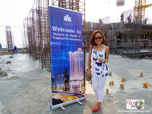 New San Jose Builders Victoria de Manila 2 Topping-Off Ceremony