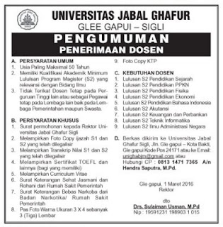 Universitas Jabal Ghafur