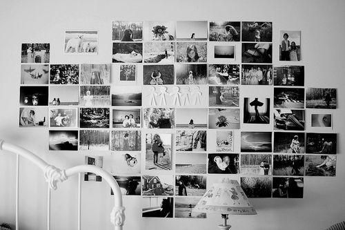 ตกแต่งบ้านสวยด้วยรูปถ่ายขาวดำ