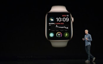 #Apple CEO Tim Cook launches #Apple Watch Series 4; tap for live updates