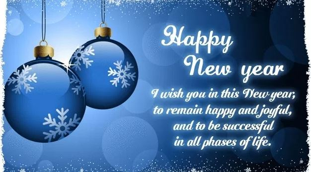 Happy New Year Status in English for WhatsApp and Facebook
